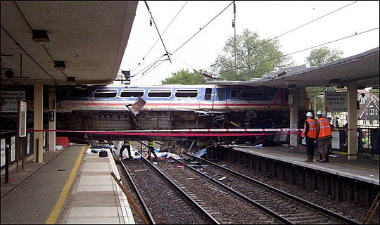 Train crash Image