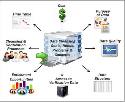 data cleansing goals